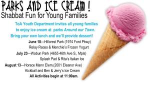 Parks & ice cream