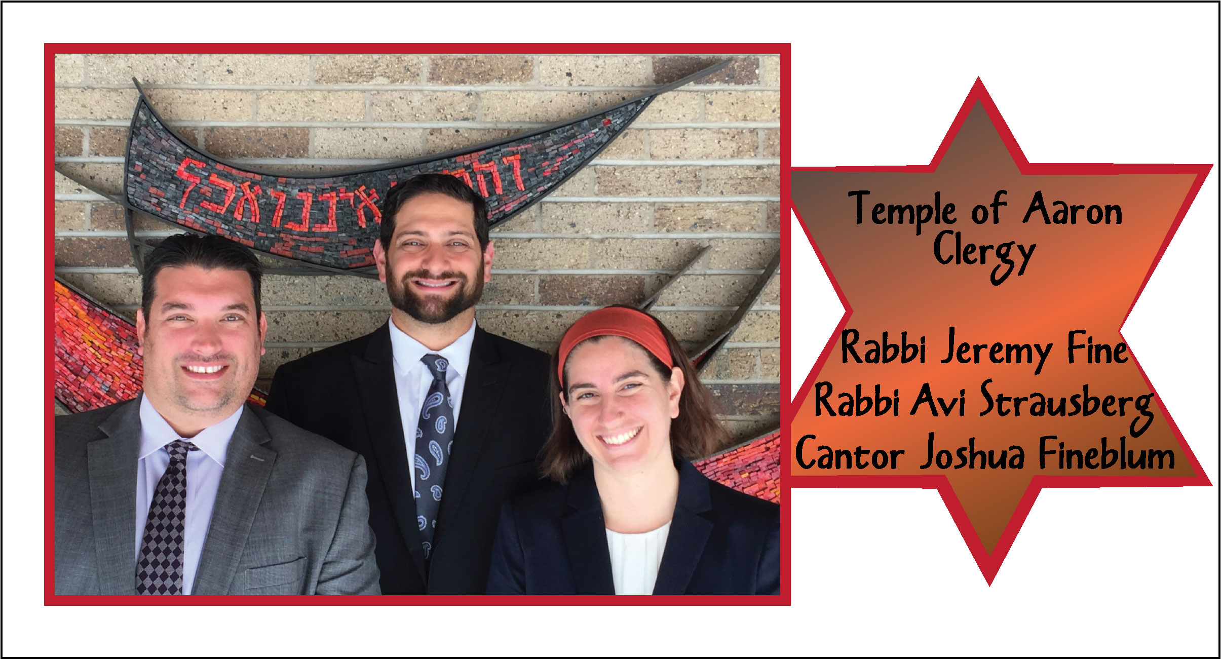 Temple of Aaron Clergy Team